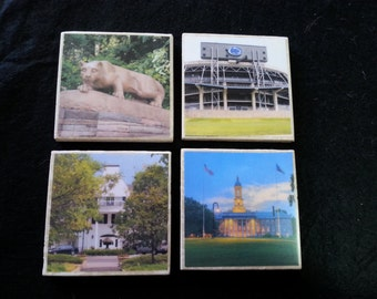 Penn State Tile Coasters