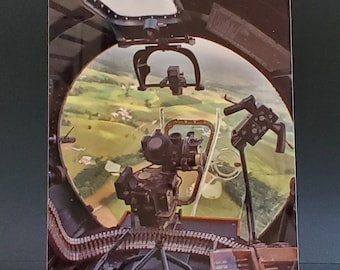 B-17 Flying Fortress - Yankee Lady - Bombardier View 4 x 6 Metal Print