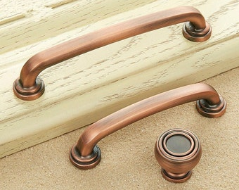 Copper Kitchen Hardware Etsy