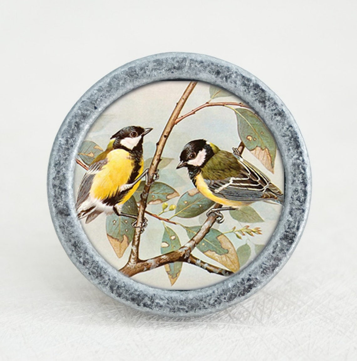 Cute Birds Knobs Vintage Drawer Dresser Knobs Handmade Cupboard Pulls Handle Chic Kitchen Cabinet Knobs Furniture Hardware