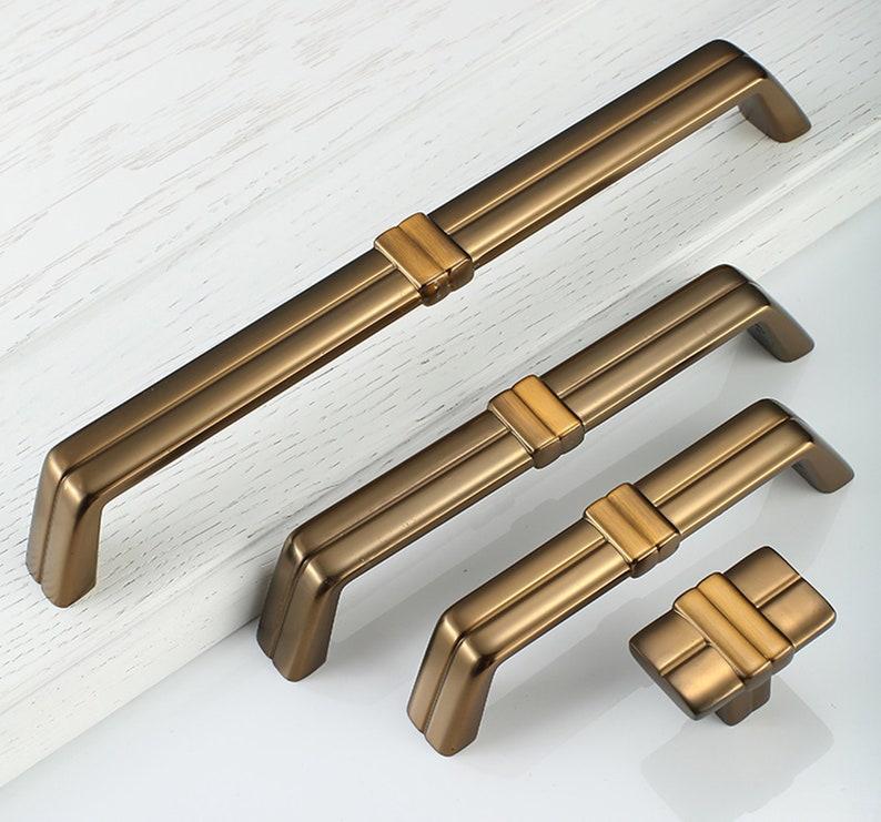 3.78\u201d 5\u201d 7.55\u2019  Antique Brass  Drawer Pulls Handles Dresser Knobs Pulls Kitchen Cabinet Pulls Cupboard Handles Square 96 128 192mm