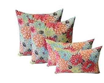 RSH D/écor Indoor Outdoor Decorative Sunbrella Throw ~ Toss Pillows ~ Choose Color /& Size