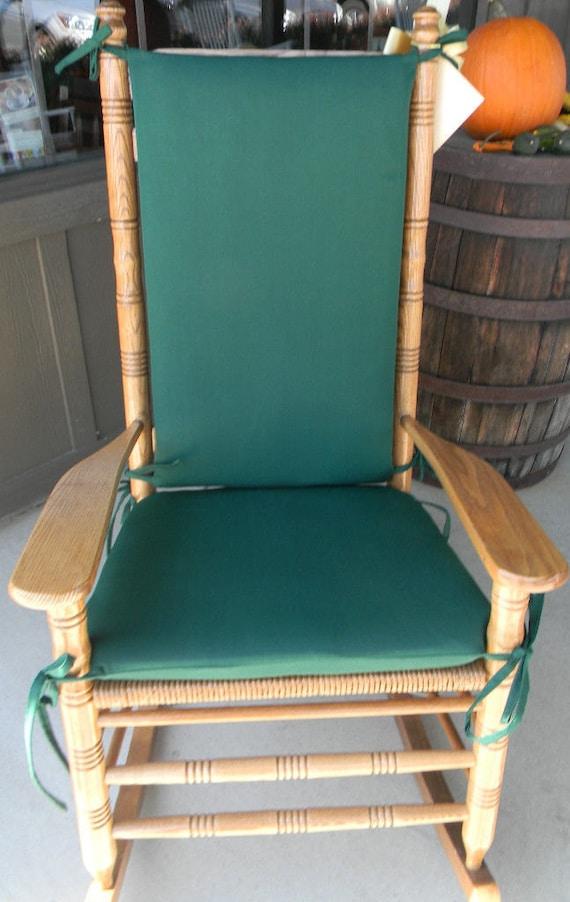 Gentil Indoor / Outdoor Rocking Chair Cushions Fits Cracker Barrel