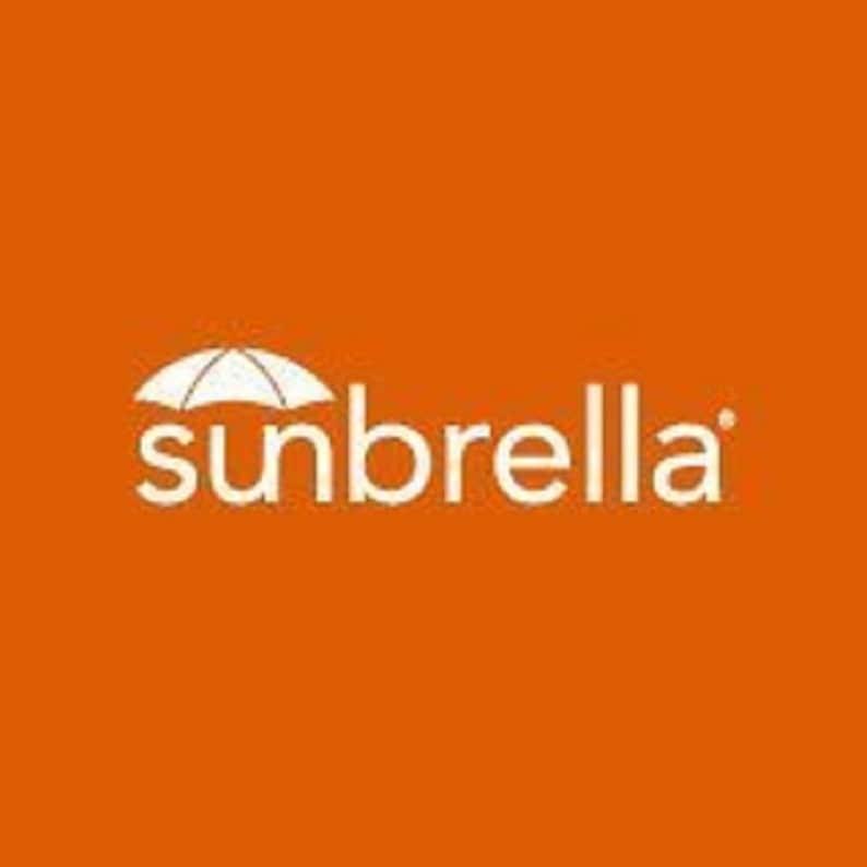 Indoor  Outdoor Sunbrella Seville Seaside 2 Pc Foam Rocking Chair Cushion Set ~ Choose Size