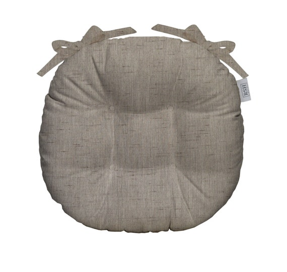 Rsh Decor Indoor Outdoor Round Tufted Bistro Chair Cushion Etsy