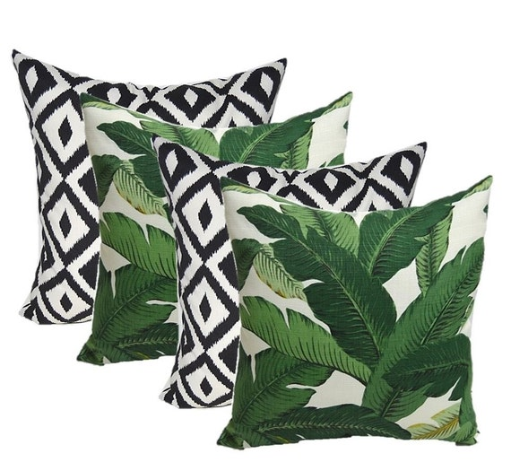 SET OF 40 In Outdoor 40 Throw Pillows Tommy Bahama Etsy Classy Tommy Bahama Decorative Pillows