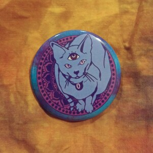 Mystic Cat Back Patch