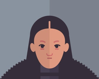 Game of Thrones - Lady Mormont print 11x14