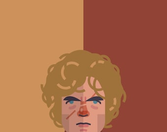 Game of Thrones - Tyrion Lannister 11x14 print