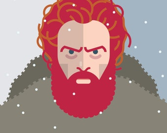 Game of Thrones - Tormund Giantsbane 11x14 print