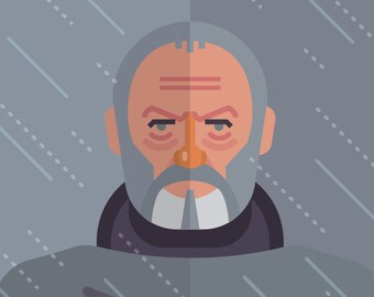 Game of Thrones - Ser Davos print 11x14