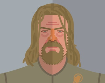 Game of Thrones - Ned Stark 11x14 print