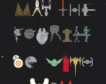 May the 4th Be With You - poster print