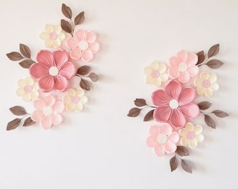 Paper Flower Wall Etsy