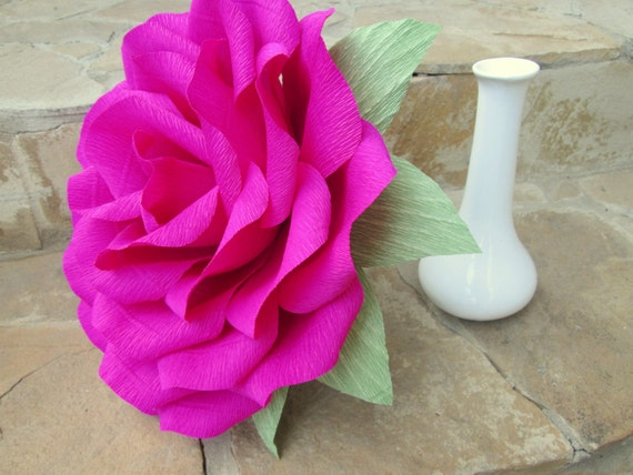 Giant Paper Flower Giant Paper Rose Wedding Decoration Wedding