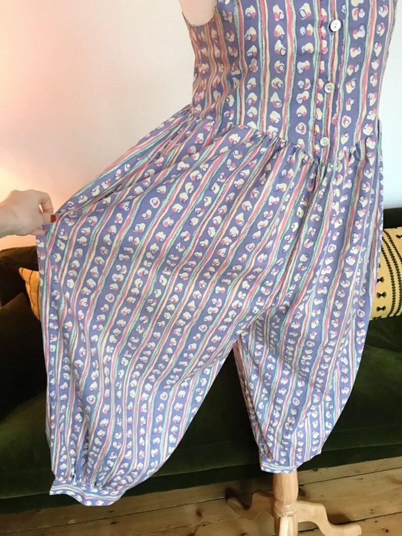596c2ea33501 Laura Ashley pastel stripe jumpsuit UK 10