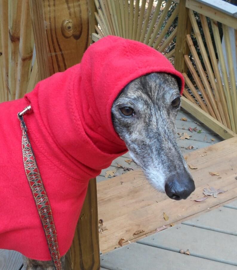 Hound Fleece Hood