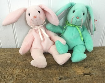 Vintage Ty Beanie Baby Bunnies e7f1d8bdcb85