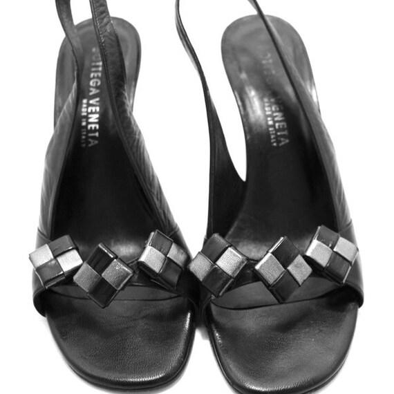 Bottega Veneta Vintage Slingback Shoes
