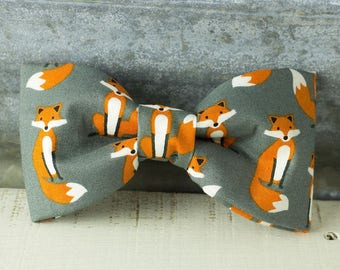 Fox Bow Tie - Dog Collar Bow-Tie Accessory