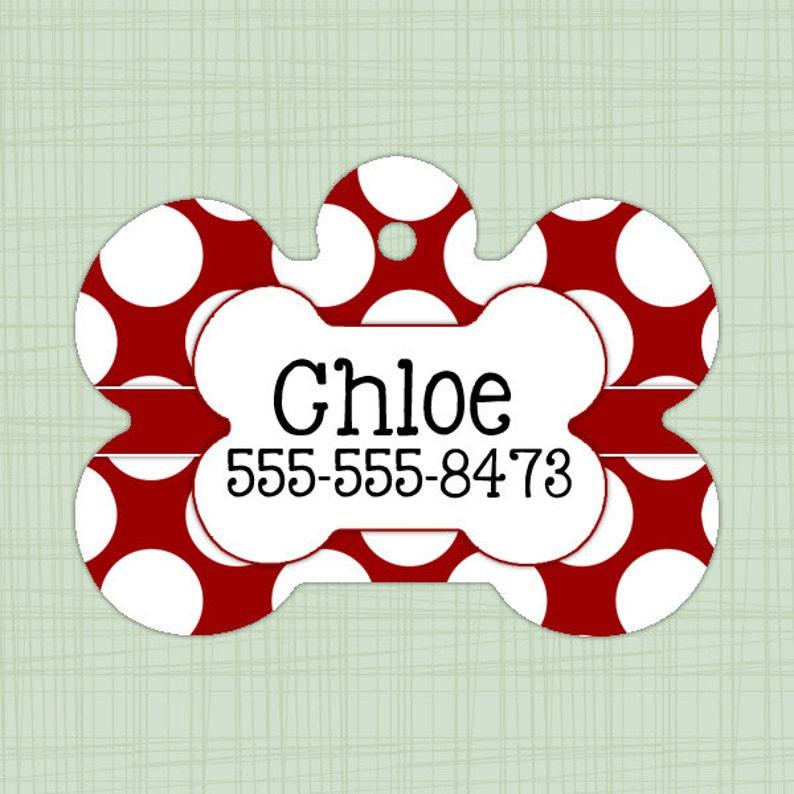 Alabama Crimson Tide Custom Pet Id Dog Tag Personalized w// Name /& Number