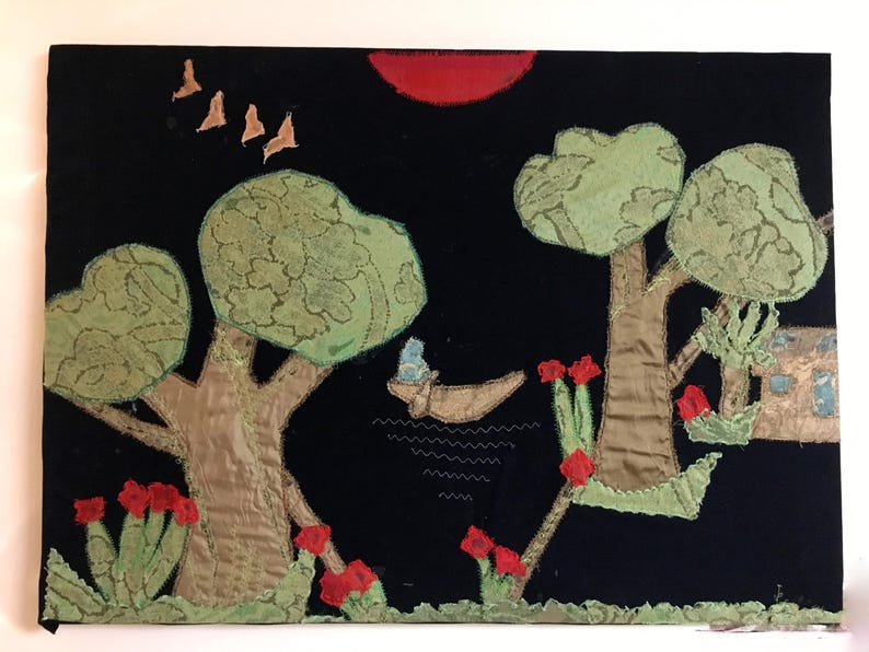 Samiomor  Tree Landscape Wall Art image 0