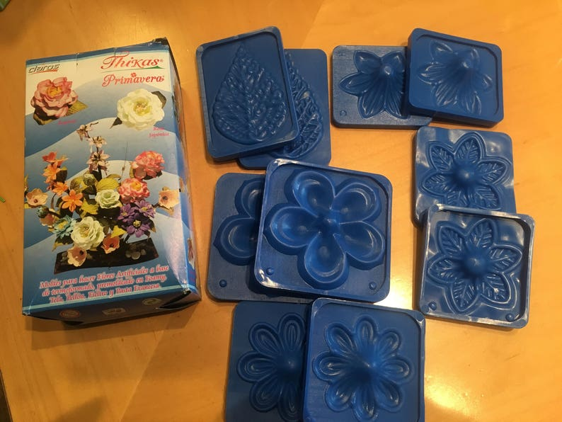 Flower Molds 3d Kit Foam Craft Moldes Para Hacer Flores De Foamy Item Primavera Free Foam Kit