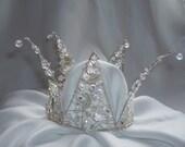 Swarovski Crown /Coronet / Bridal / wedding tiara./headpiece .