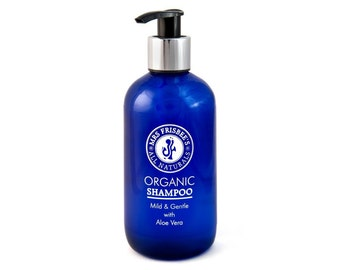Organic Shampoo with Aloe Vera / Vegan / Natural / Handmade/ Fragrance Free / Allergen Free