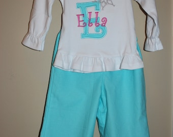 Infant/Toddler Ruffled Pants Outfit
