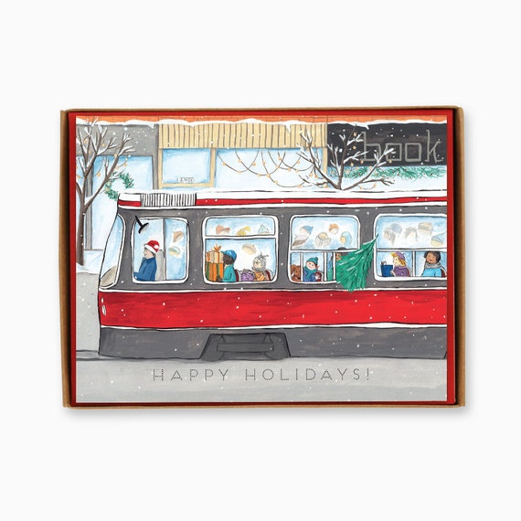 Assorted Box Of 8 Toronto Themed Greeting Cards