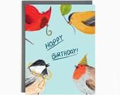 Birthday Birds - Funny Birthday Greeting Card