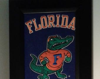 Florida University Heritage Team Banner....Framed