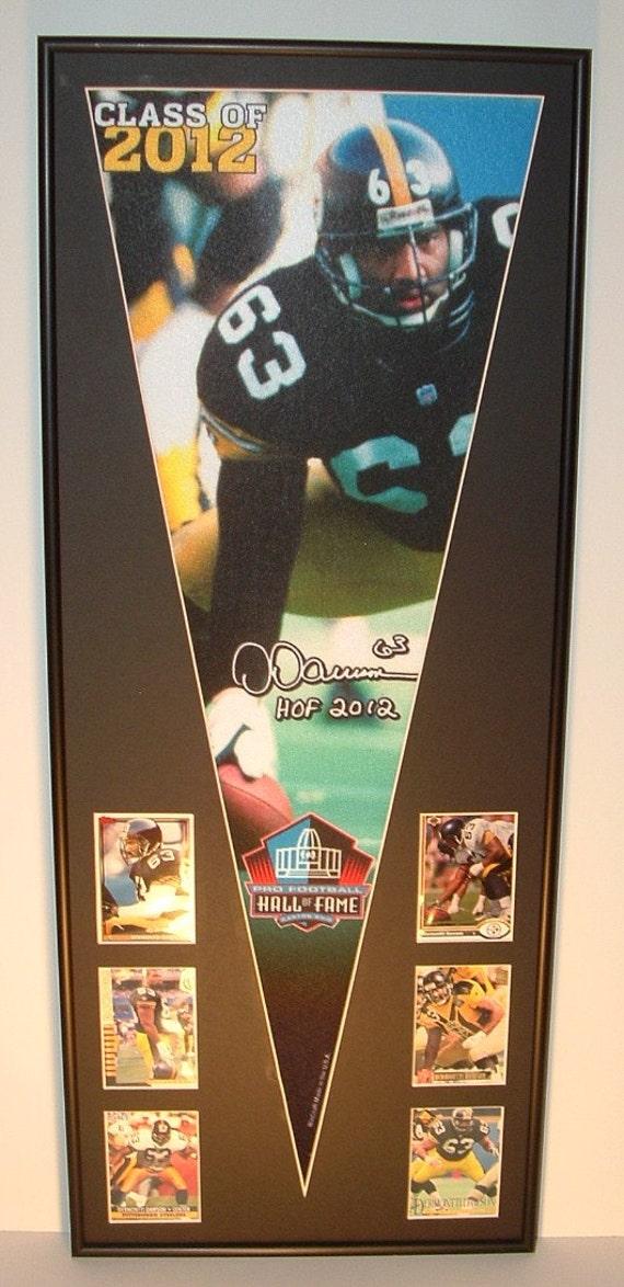 Salón de la fama de Steelers Dermontti Dawson banderín y | Etsy