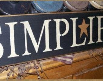 SIMPLIFY STAR Primitive Sign