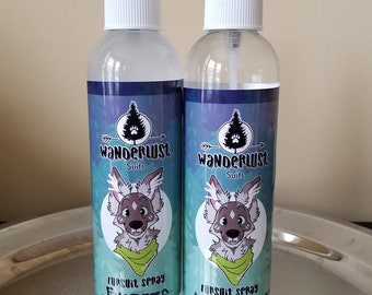 Fursuit Disinfectant Sprays 8oz.