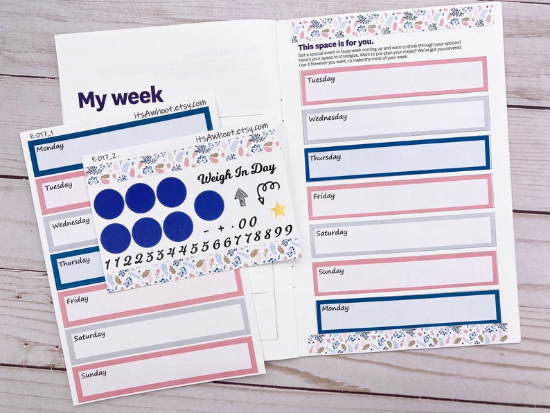 March St B135 Patrick/'s Day Combo Pack Coordinating Weight Watchers WW Weekly Planner Stickers