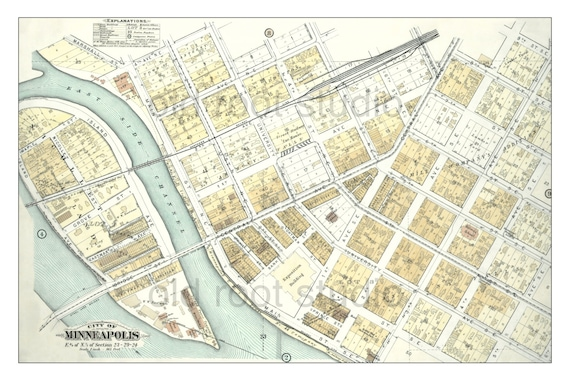 Hand Painted Map of Minneapolis, 1892 / Downtown / Nicollet Island on north minneapolis map, minneapolis metro map, target center map, minneapolis street map, springfield minneapolis map, nicollet mall map, riverside minneapolis map, st. louis park map, minneapolis parking ramp map, uptown minneapolis map, minneapolis attraction map, target field map, minneapolis hotel map, southwest minneapolis map, warehouse district minneapolis map, mall of america map, airport minneapolis map, minneapolis suburbs map, northwest minneapolis map, minneapolis skyway system map,