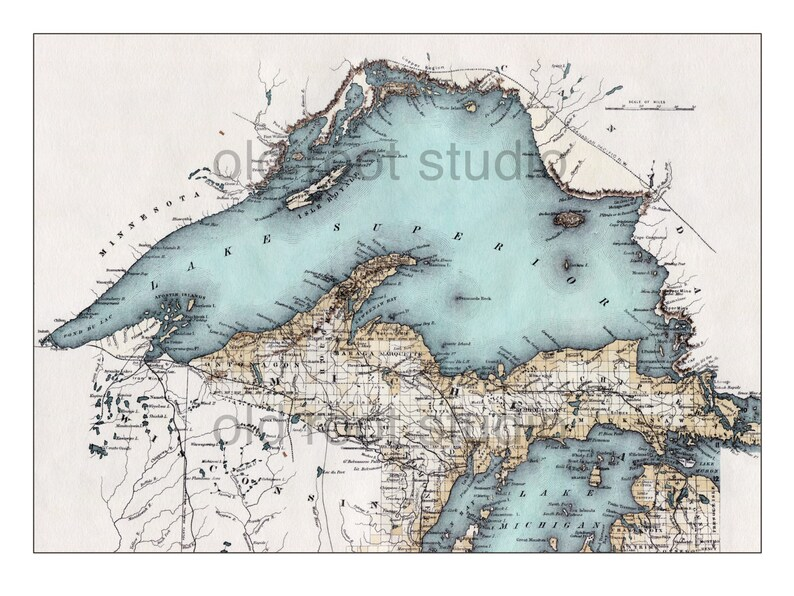 Hand Painted Map of Lake Superior 1885 / Vintage Superior / Old Superior on map of hubbard lake area, map of lake mead area, map of keuka lake area, map of rhine river area, map of superior shipwrecks, map of lake minnetonka area, map of grand lake area, map of houghton lake area, map of flathead lake area, map of blue lake area, map of the north sea area, map of lake chelan area, map of saginaw bay area, map of bass lake area, map of lake wenatchee area, map of lake texoma area, map of iowa area, map around lake superior, map of south lake area, map of kentucky lake area,