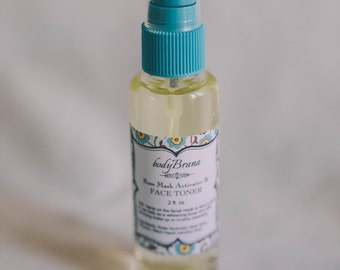 Green Apple and Cucumber Facial Toner-- Oily, combination skin, acne