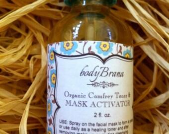 Organic Comfrey Toner and Mask Activator