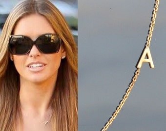 Maya Brenner Designs Rose Gold Mini Initial Earring dIAueDZ41