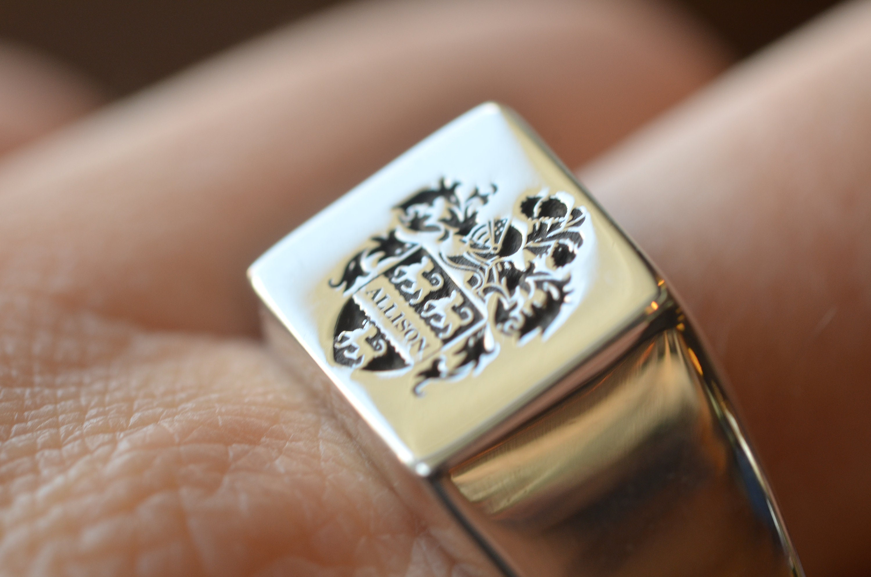 01ed6bfddcedb Sterling silver, Family Crest Ring, Mens signet ring, mens ring, Coat of  Arms makers,Heraldic Ring, Mens Ring, Christmas Gift