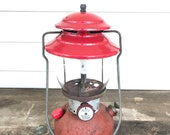 200A Coleman Camping Lantern low vent Dated 2 of 1964