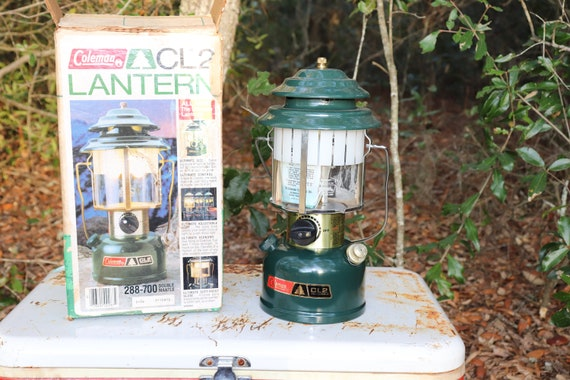 CL2 Coleman Camping Lantern Brand New with box and Mantles Dated 9 of 84