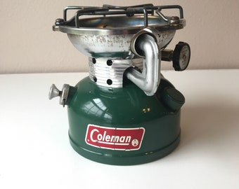 Coleman 502 Camp Stove Dated 5 of 1979 cleaned, tested and works