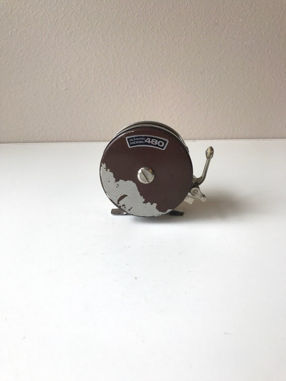 Olympic Model 480 Automatic Fly fishing Reel Made In Japan