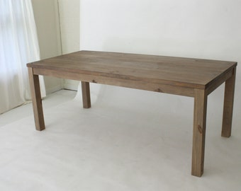 Bon Reclaimed Wood Parsons Table