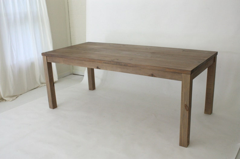 Beau Reclaimed Wood Parsons Table