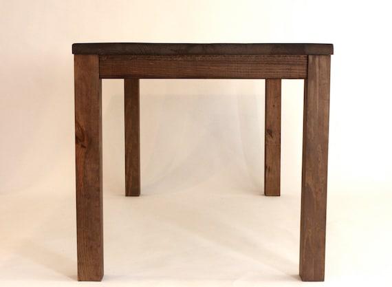 Ilot De Cuisine Hauteur Comptoir Table En Bois Recupere Etsy